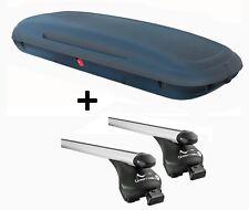 vdpca480 Caja de techo 480L Aspecto Carbono + barras SEAT ALTEA FREETRACK AB 07