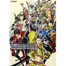 Sengoku Basara 3 Samurai Heroes official complete works art book / PS3 / Wii