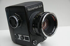 Rollei SLX Camera with 80mm F/2.8 HFT Lens, filmback, charger and battery pack