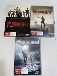 The Walking Dead Dvd Season 1,2,3 And 5 Region 4 Free Shipping In Aus