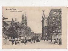 Amsterdam Rijkspostkantoor Netherlands Vintage U/B Postcard 025b