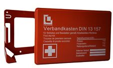 VERBANDSKASTEN Erste Hilfe DIN 13157 Verbandkasten + Halter orange 620150