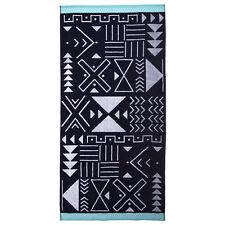 Farah Super Luxurious 100% Egyptian Cotton Beach Towel 95 x 175cm - by Bambury