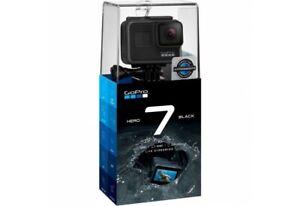 GoPro Hero 7 Black Waterproof 4K HD 12MP Camera with Accessories - 256gb card