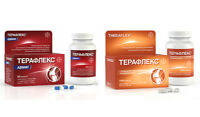 Theraflex (Glucosamine + Chondroitin sulfate) for the support ofjoins