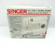 Singer Tiny Tailor Sewing Machine Mending Machine New in Box Lockstitch White