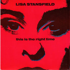 "Lisa Stansfield 7"" This Is The Right Time - France"