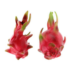 Decorative Fake Dragon Fruits Artificial Fruit Early Education Toys