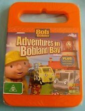 BOB THE BUILDER Adventures in Bobland Bay DVD NEW SEALED Region 4 AUSTRALIAN