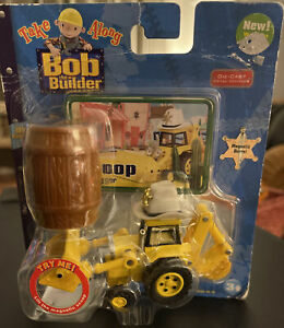 Take Along Bob The Builder Scoop The Digger From 2006 New Damaged Package BIN1