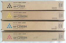 Genuine Ricoh Savin Lanier Toner SET MPC2503 MPC2003 841918 841919 841920 841921