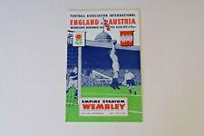 More details for england v austria (1951) programme (excellent)