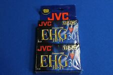 JVC 30-Minute VHS-C Camcorder Tapes (2 Pack) (TC30EHGBH2)