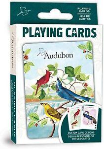 Audubon Birds set of 52 playing cards + Jokers (mpc)