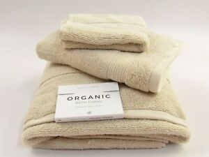Under The Canopy 100% Organic Cotton 3pc Bath Towel Set G086