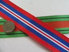 Defence Medal  &  The 1939/45 War Medal, replacement ribbon. x 1 Metre