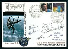 France URSS CASSIOPEE 1996 Claudie Deshays Haigneré Soyouz TM-24 CNES autographs
