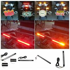 Car Brake Lamp Motocycle License Plate Light Signal Turn Bulb Flexible 48SMD LED