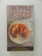 VHS Video Kassette Faith no more Video Croissant englisch