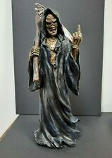 "IRON MAIDEN 9"" EDDIE Grim Reaper FIGURE Custom Figurine Resin Statue Death NEW"