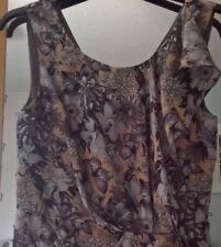 Beautiful Oasis, Size 8, Dusky pink and grey Floral Dress