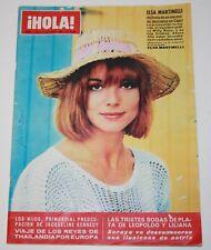 HOLA #1154 1966 Elsa Martinelli Sylvie Vartan Beatles Jackie Kennedy Reza Iran