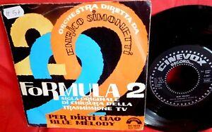 ENRICO SIMONETTI Formula 2 7' + PS TV OST 1973 ITALY MINT-