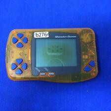 b2764 Bandai WonderSwan WS Skeleton Orange Japan Digimon Ver Express x