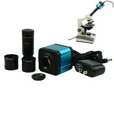 USB2.0 14MP Microscope Electronic Digital Eyepiece CCD Camera W/HDMI 2output