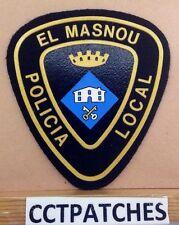 EL MASNOU, SPAIN POLICIA LOCAL POLICE SHOULDER PATCH