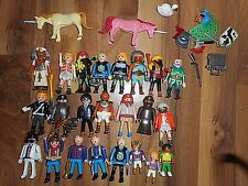 PLAYMOBIL LOT  MIXED Figures  Ancient Roman Greece Police Indians FREE SHIP USA