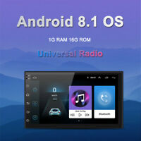 "Car Multimedia Stereo Radio Core1+16G 2 DIN 7"" Player GPS Wifi Android Bluetooth"