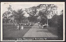 London Postcard - Little Wormwood Scrubs   D438