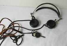 Peerless United  Radio Earpiece Headset Headphones Antique Rochester NY