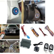 Car Suv Alarm System Security Push Button Remote Engine Start Kit Universal