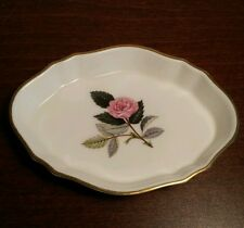 "VINTAGE Wedgwood ""HATHAWAY ROSE"" Piatto Pin"