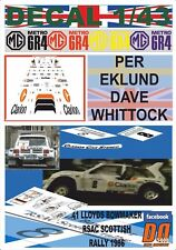 DECAL 1/43 MG METRO 6R4 PER EKLUND SCOTTISH R. 1986 DnF (07)