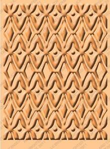 Cuttlebug A2 Embossing folder - African Batik - 2001227