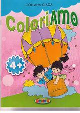 Collana Giada Coloriamo Mongolfiera 4+ - Salvadeos - Libro nuovo in offerta !