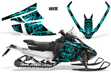 Arctic Cat F Series Sled Wrap Snowmobile Graphics Kit Stickers Decals HAVOC MINT