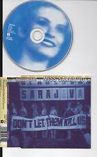 U2 PASSENGERS RARE CD MISS SARAJEVO