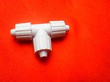 T-Stück Verbindung Leitung Schlauch Plastik Überwurf Mutter 10mm 3 abgänge