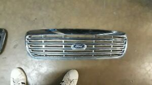 1998-2011 Ford Crown Victoria Vic Front Grill Grille CHROME OEM