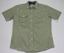 Paper Denim & Cloth Short Sleeve Button Down Shirt Size Medium