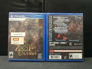 PSV PS Vita Zero Time Dilemma (Brand New)
