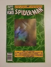 Spider-man #26 NM (Marvel,1992) Giant-Sized Hologram 30th Anniversary! w/Poster