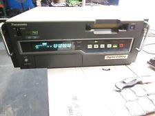 Panasonic AJ-D455P DVCPRO Digital VCR Digital Editing Tested Working w/ Rack Ear
