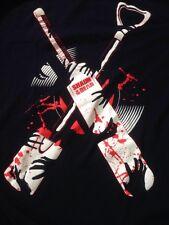 "Shaun of the Dead Zombie Movie Lootwear Black 100% Cotton T-Shirt L 42"" Chest"