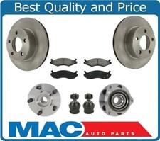 New Front Brakes Disc Rotors Pads 7Pc Fits For Jeep Cherokee 4 Wheel Drive 84-89