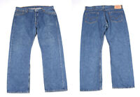 Levi's 501 Bleu Jeans Jambe Droite Hommes Jean W40 L32